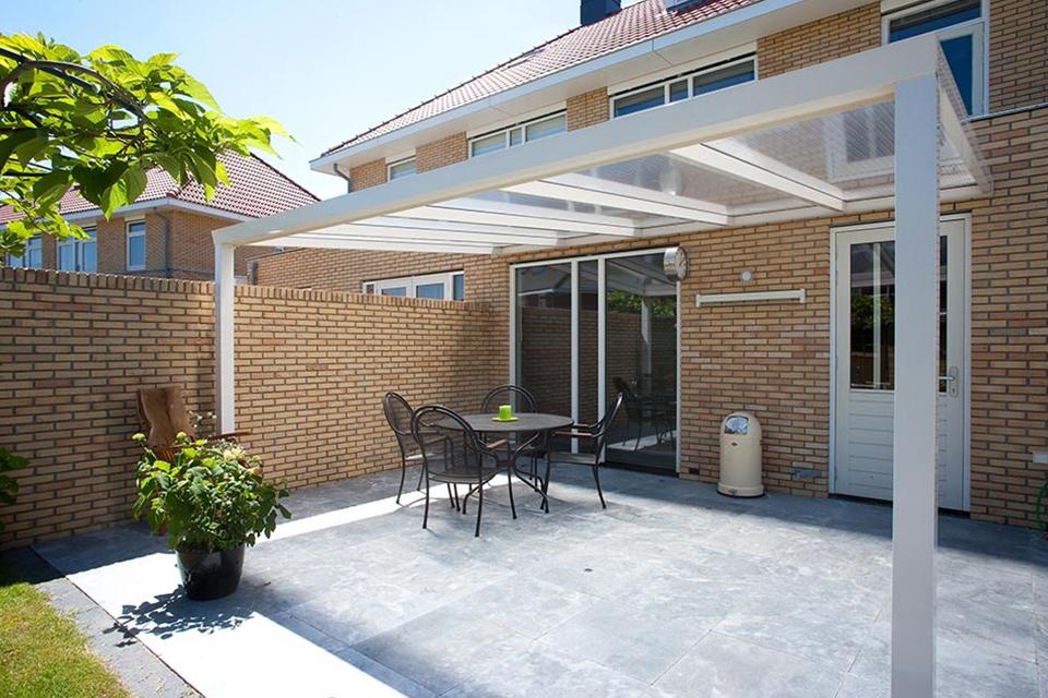 Aluxe Trendline veranda met platen 6000x2500