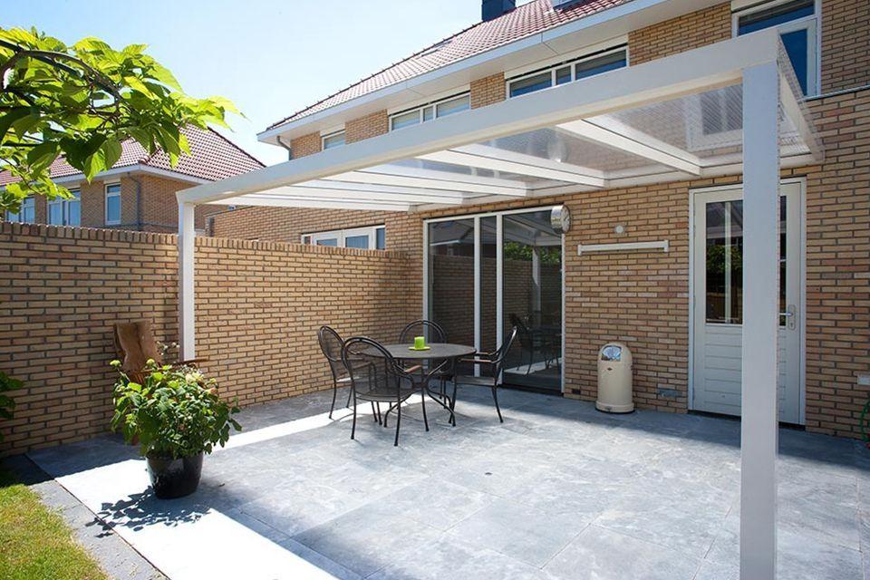 Aluxe Trendline veranda met platen 7950x2500