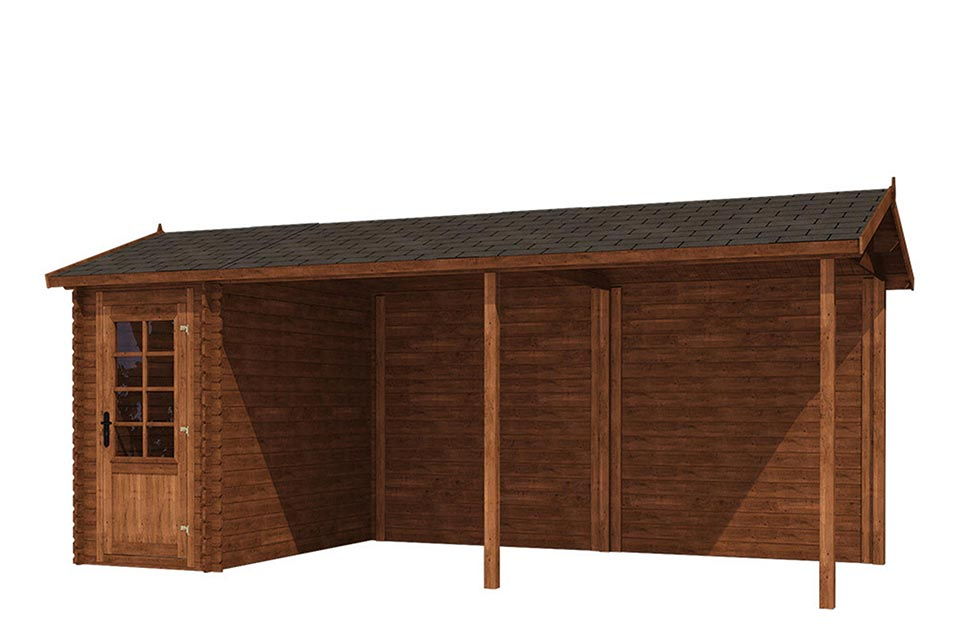 Fonteyn | Tuinhuis Module Zadeldak 650