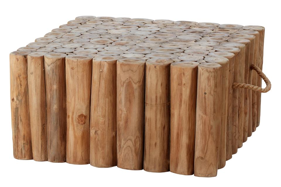 Apple Bee | Koffietafel Twiggy 70 x 70 x 35 cm | Met Handvaten