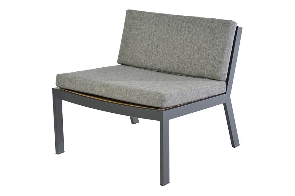 Borek | Twisk Loungestoel zonder Armleuning
