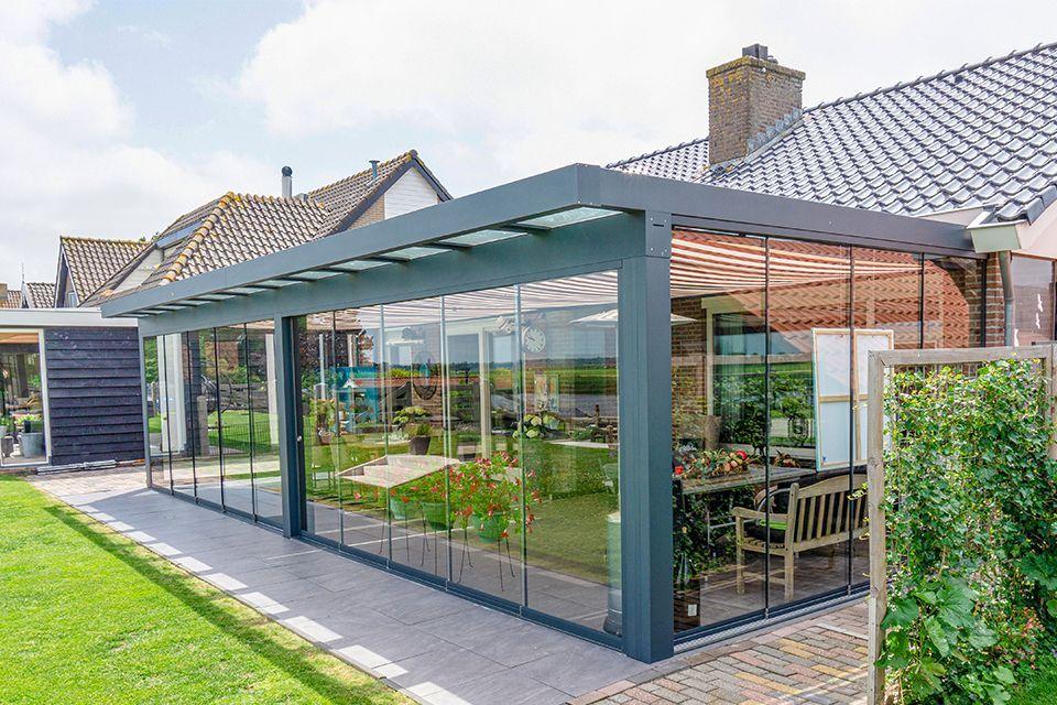 Aluxe Ultraline veranda 5000x4500