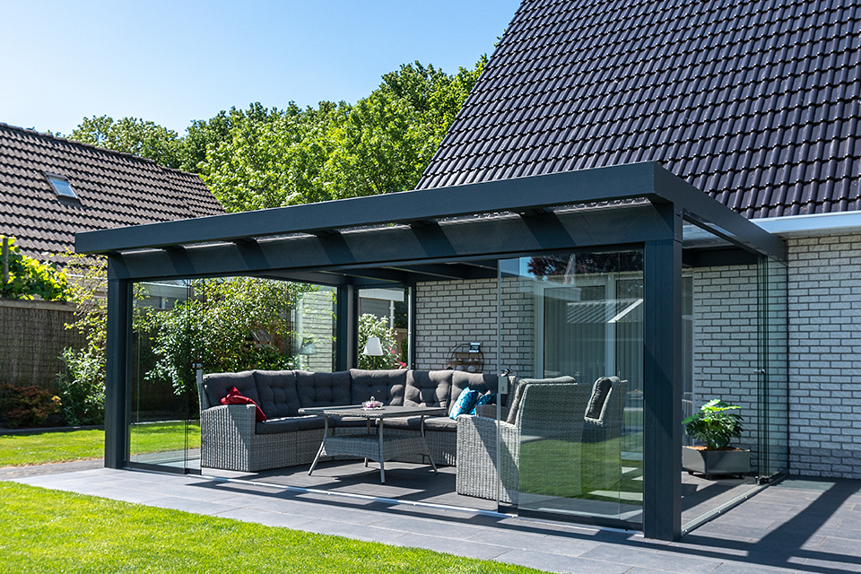 Aluxe Ultraline veranda 7000x4500