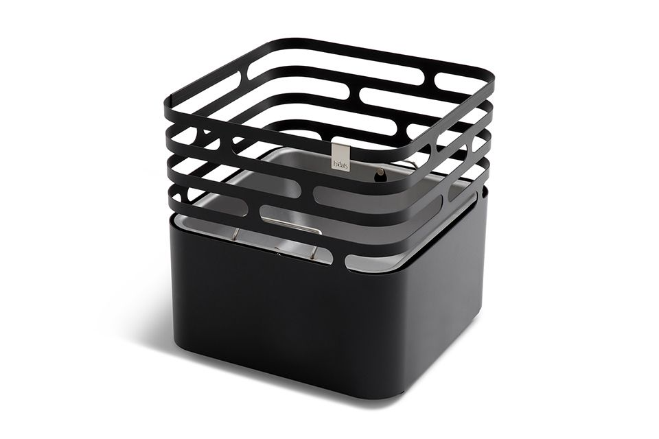 Hofats | Cube Vuurkorf | Zwart