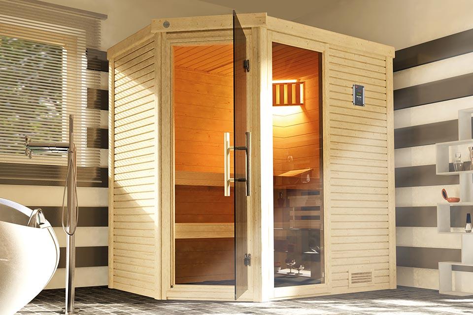 Weka | Sauna Cubilis Hoek Gr. 1