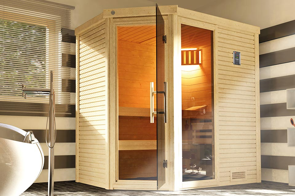 Weka | Sauna Cubilis Hoek Gr. 2