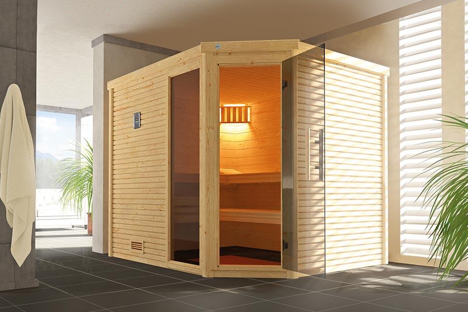 Weka | Sauna Cubilis Hoek Gr. 3