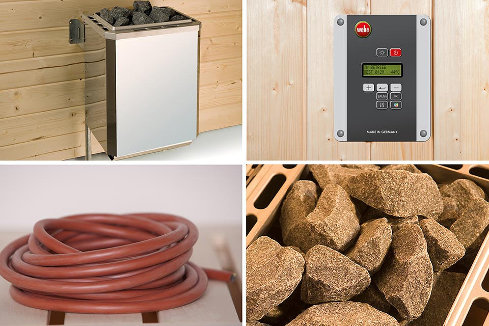 Weka | Saunakachelset 2 - 4,5 kW - 230 V - 20 A