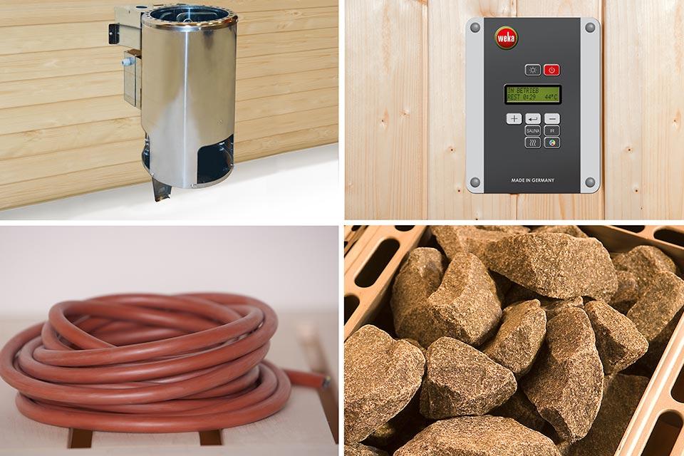Weka | Bio-Kachelset 5 - 3,6 kW - 230 V