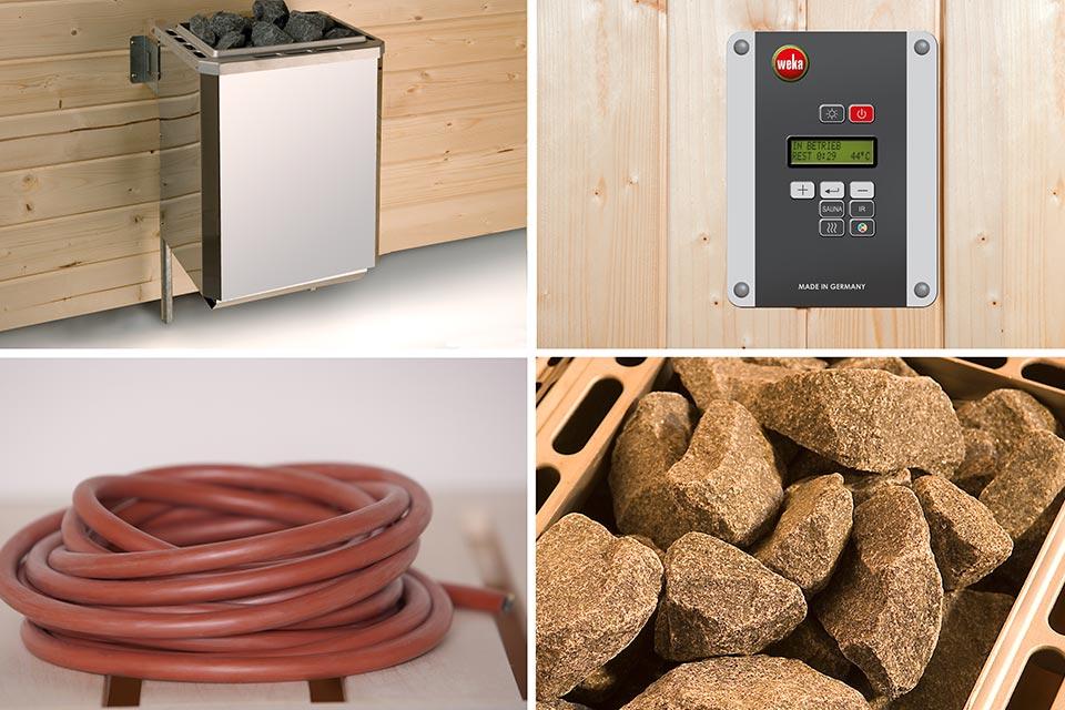 Weka | Bio-Kachelset 6 - 4,5 kW - 230 V