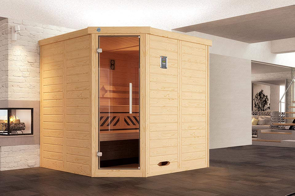 Weka | Sauna Kemi 1 GT Hoek
