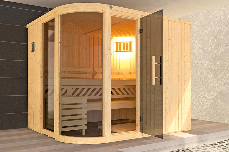 Weka | Sauna Sara 2 | 9,0 kW Bio-Kachel