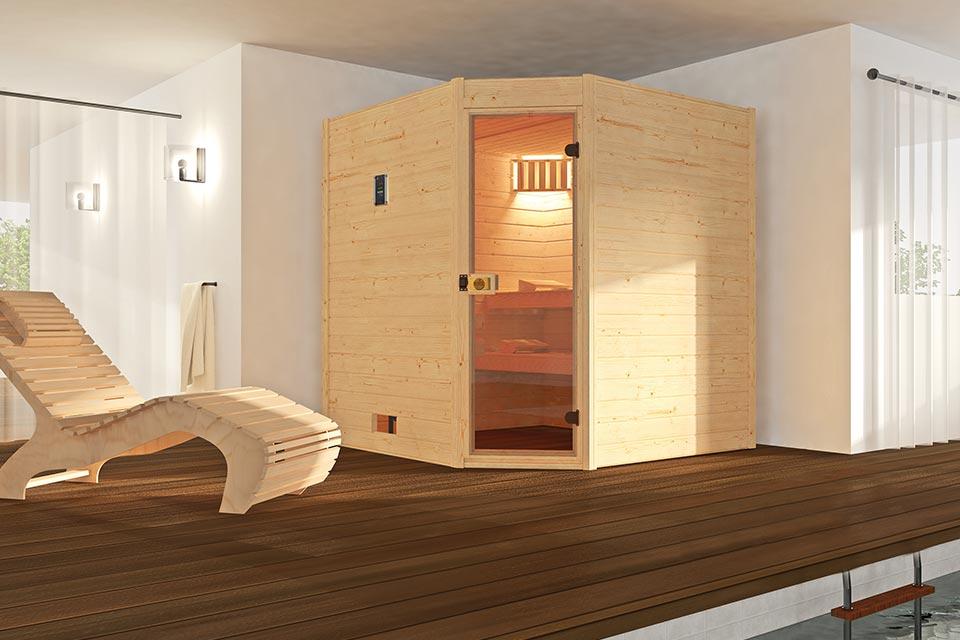 Weka | Sauna Valida 1.8 GT Hoek