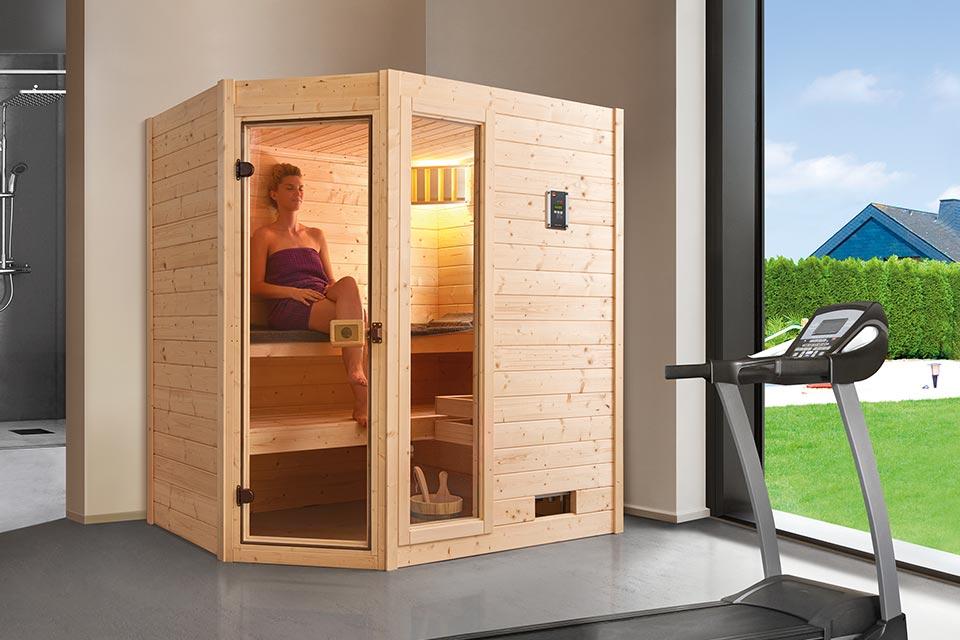 Weka | Sauna Valida 1 GTF Hoek