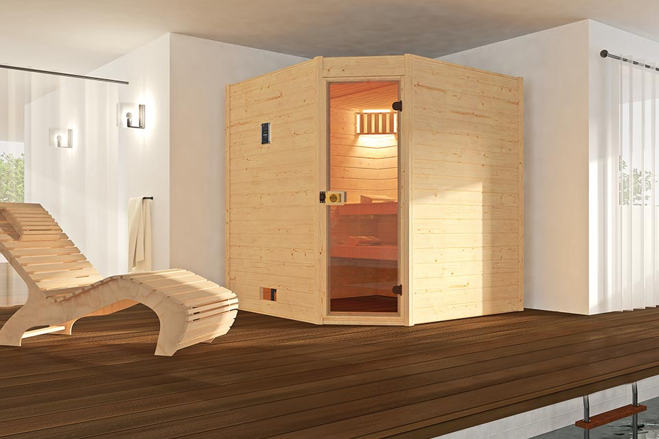 Weka | Sauna Valida 2 GT Hoek