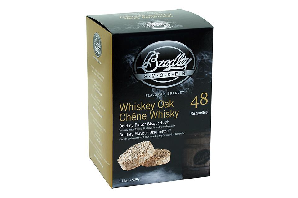 Bradley Smoker | Bisquettes Whiskey Eiken | 48 Stuks