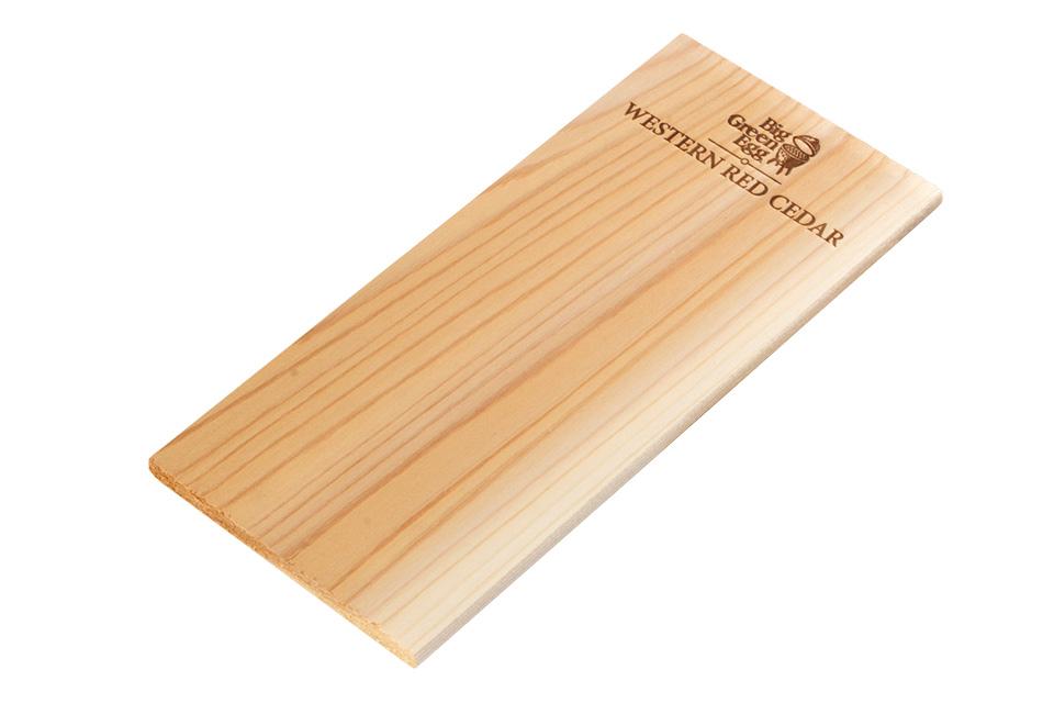 Big Green Egg | Wooden Grilling Planks | Cedar | Set/2
