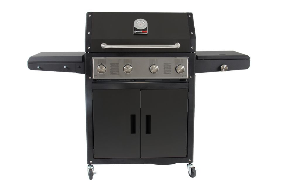 Grandhall | Barbecue Xenon 4 | Black