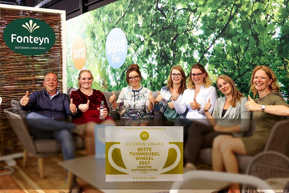 Fonteyn uitgeroepen tot beste tuinmeubelwinkel