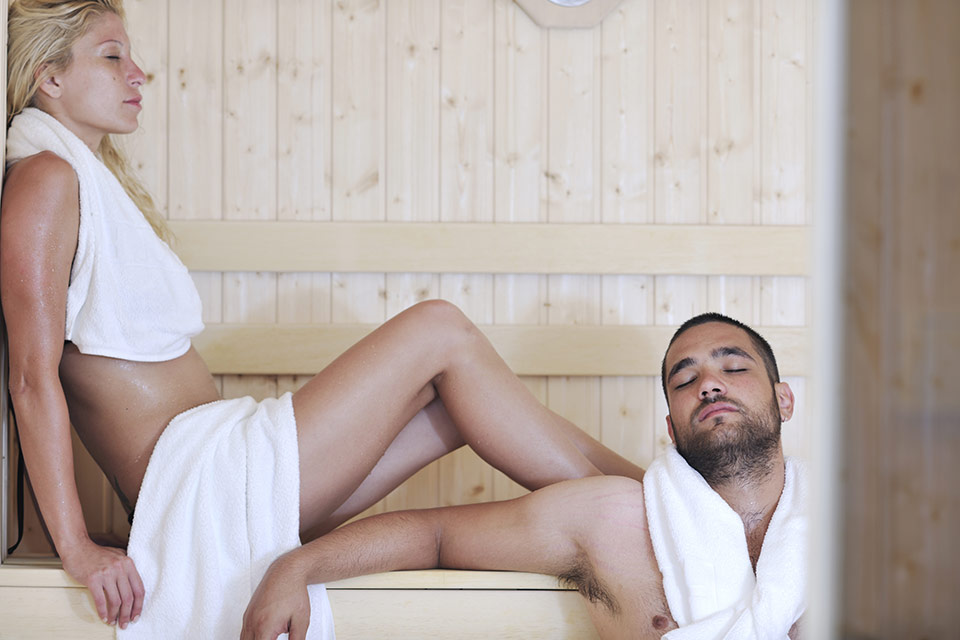 Fit het najaar door met de sauna