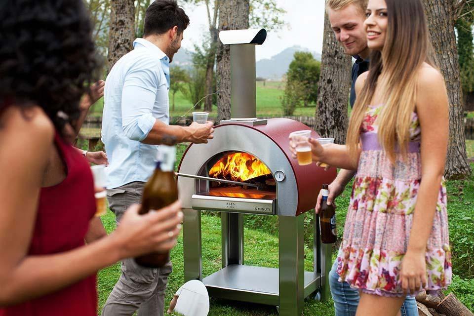 Pizza-ovens, voor echte mannen!