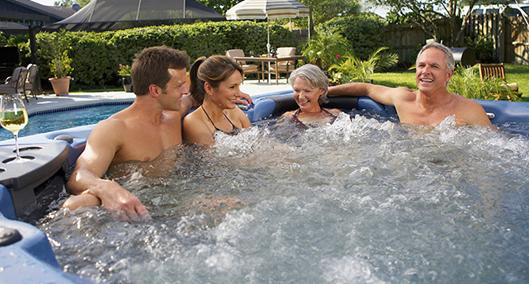 Hot tub zomerideeën