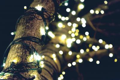 Waar vier jij dit jaar kerst? Juist, onder de veranda!