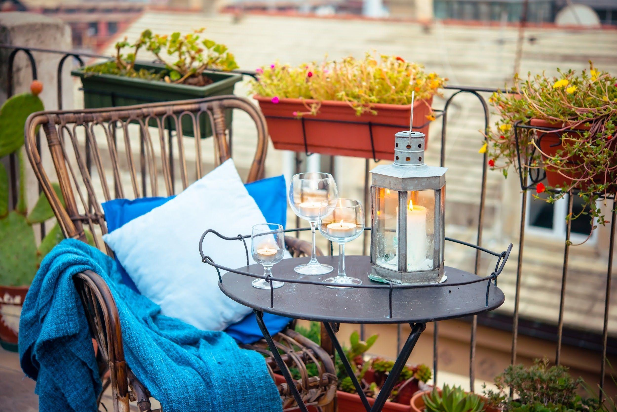 Maak je kleine balkon klaar voor het nieuwe seizoen