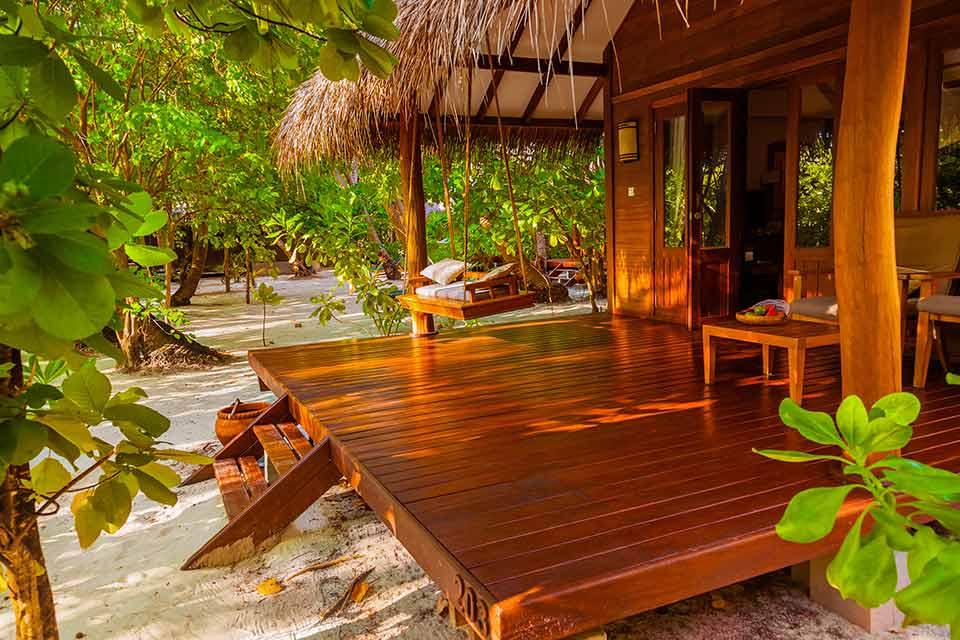 Tropische veranda
