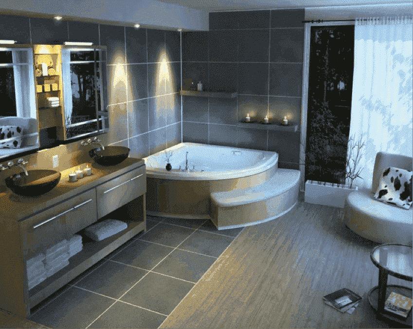 spa in eigen badkamer