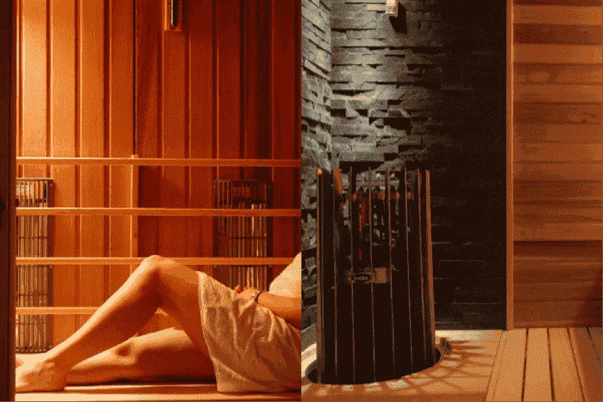 Traditionele of infrarood sauna