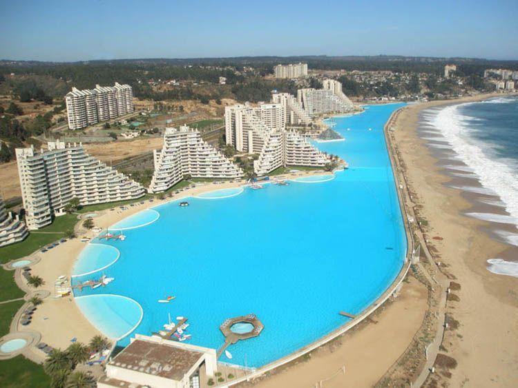 San Alfonso del Mar Seawater Pool