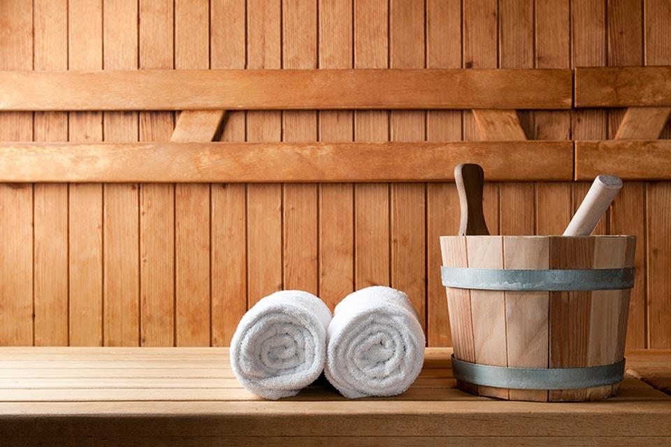 zelf een sauna bouwen