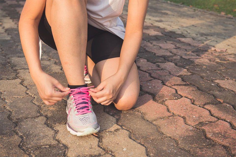 ontstressen met hardlopen