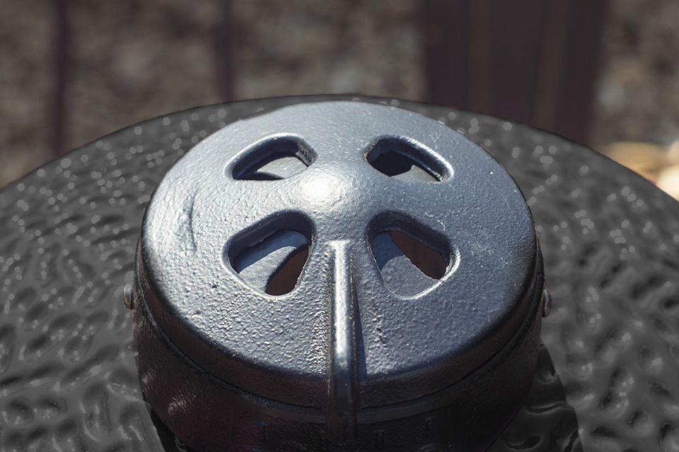 Kamado ventilatie