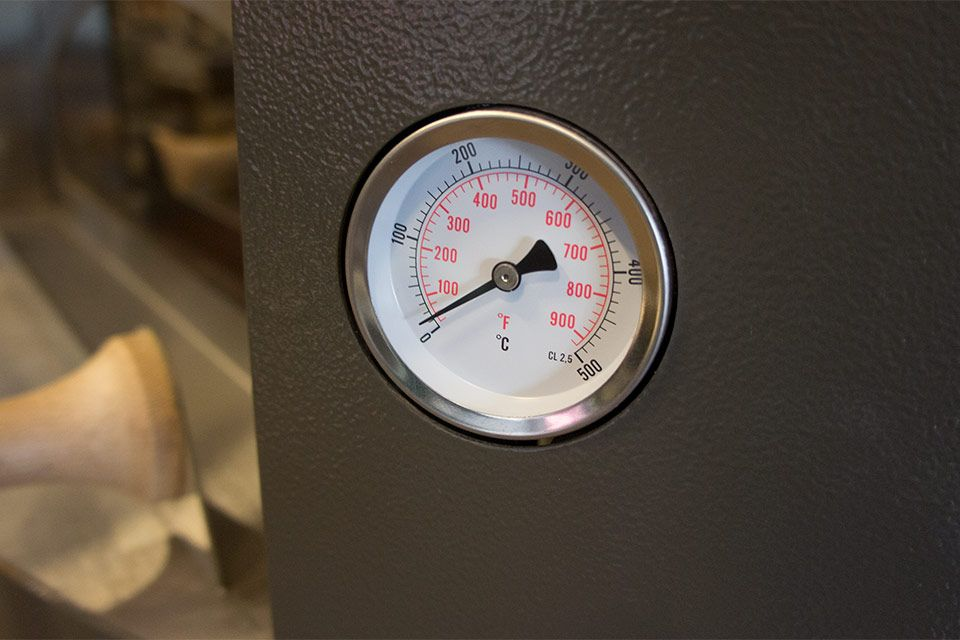 Alfa Geïntegreerde thermometer
