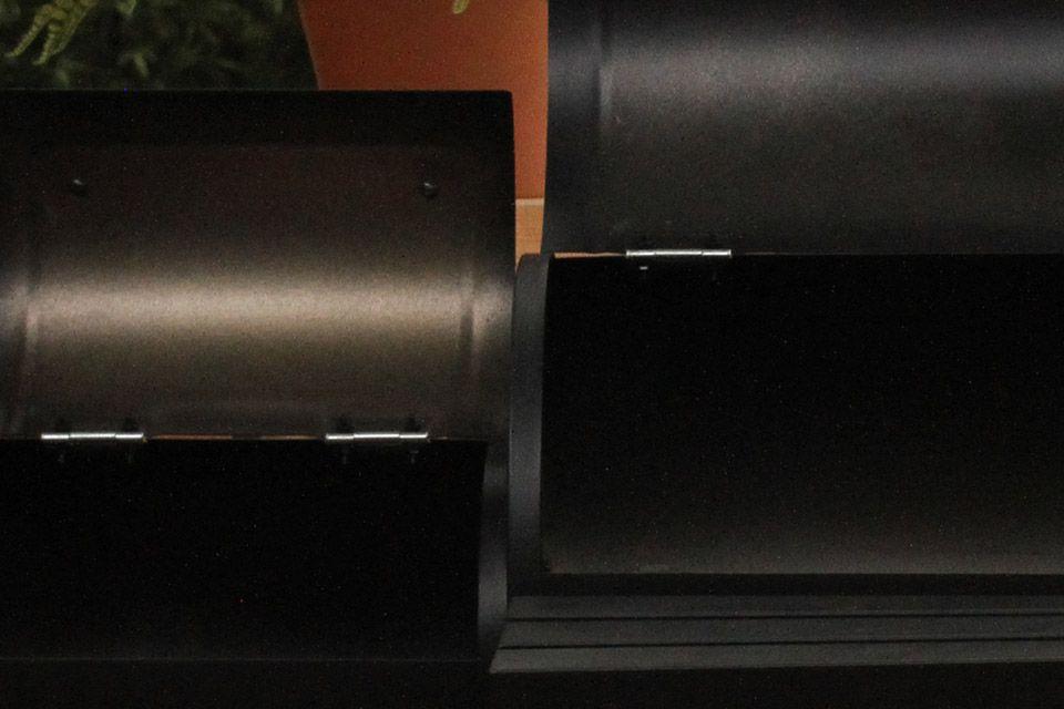 Stevig gepoedercoat staal