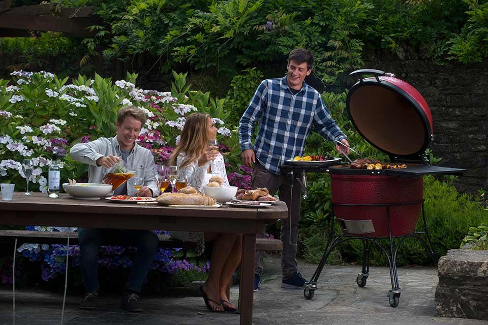 Kamado Joe barbecues