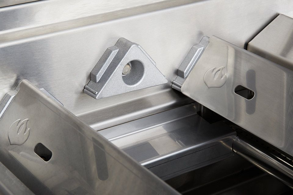 Kookplaten met versterkte hangers
