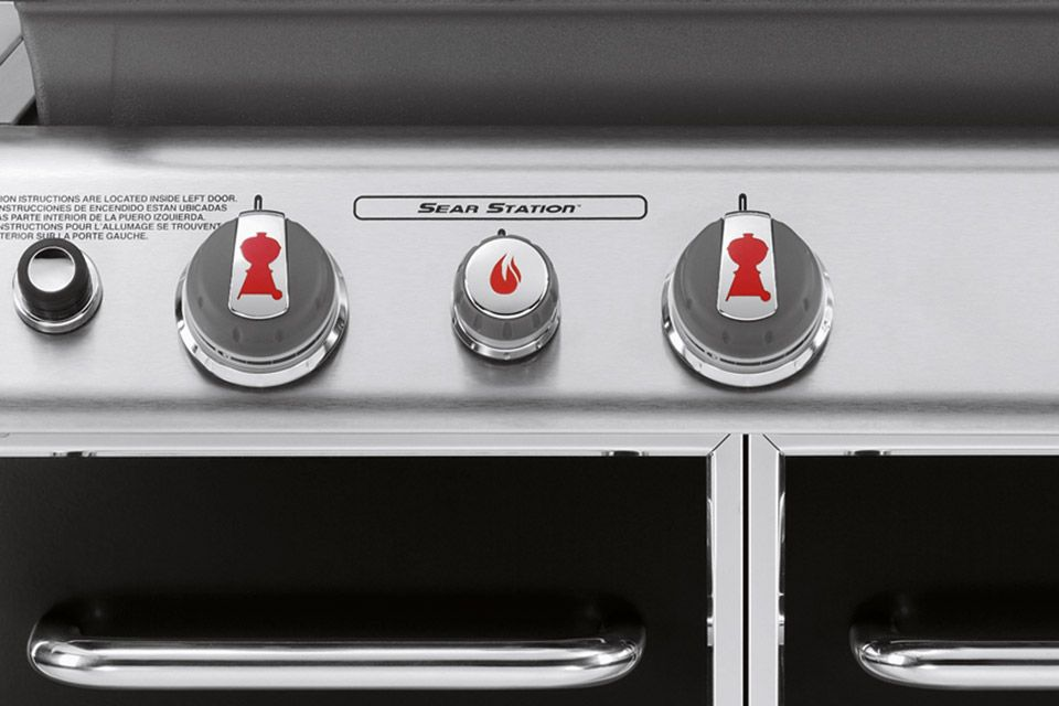 Sear Station Barbecue Weber