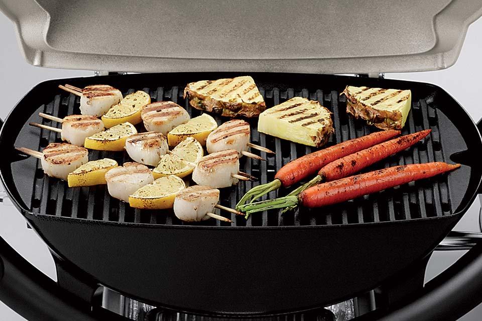 Groot grilloppervlak Barbecue Weber