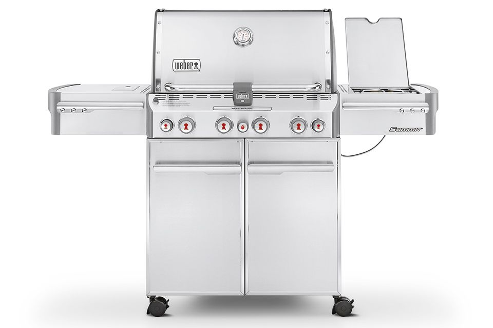 Barbecue Weber Summit S-470 GBS Roestvrij Staal