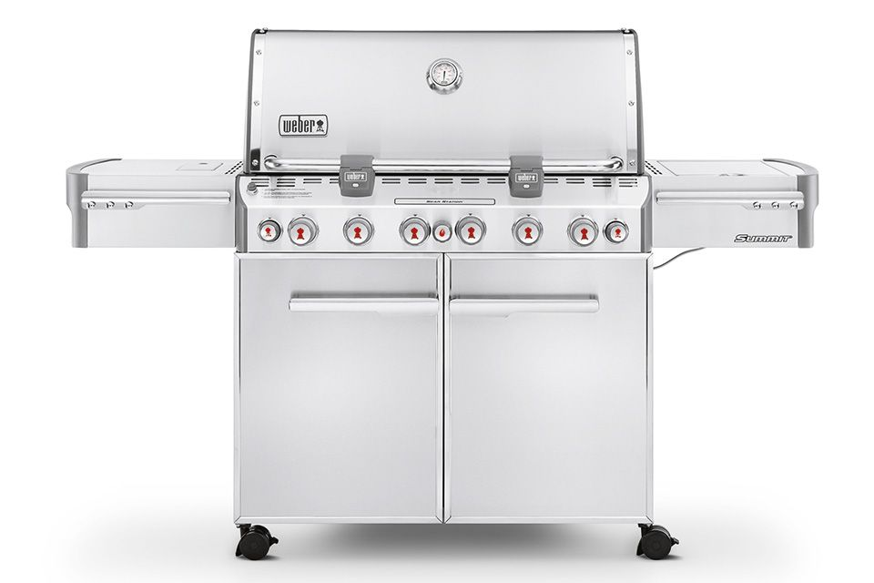 Barbecue Weber Summit S-670 GBS Roestvrij Staal