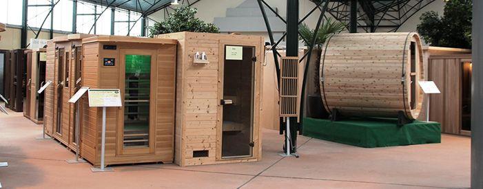 De mooiste Sauna Showroom van Nederland!
