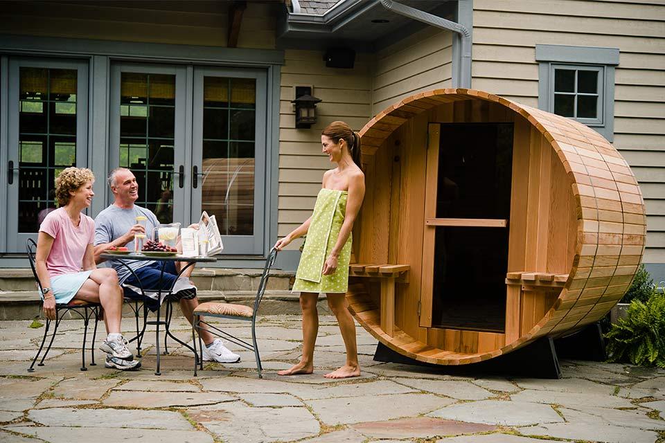 Fonteyn Barrel Sauna