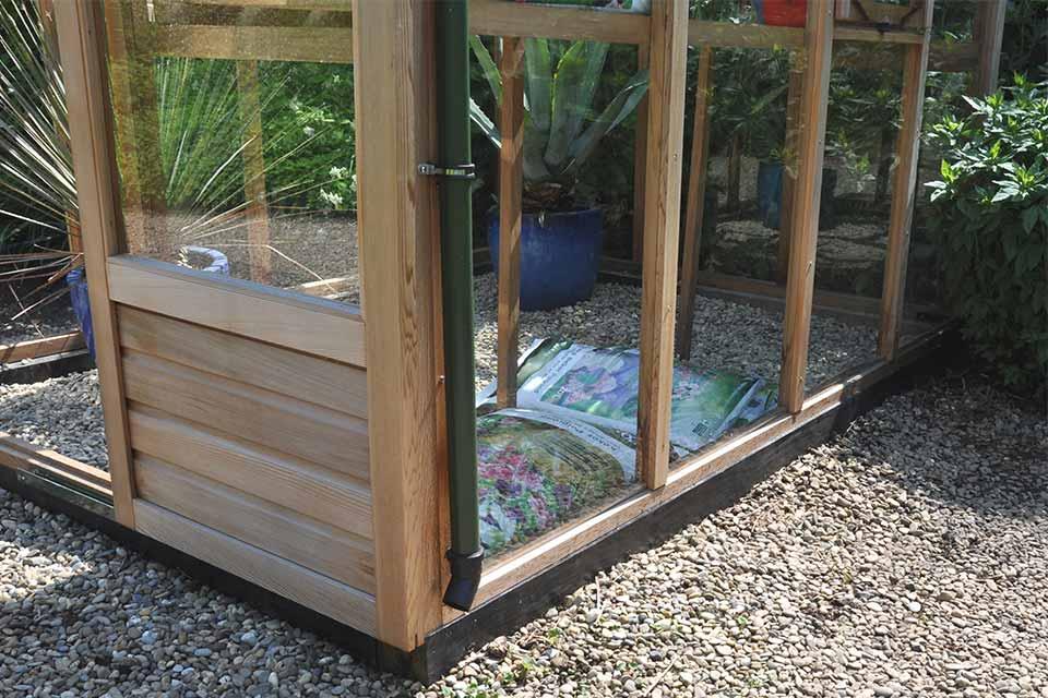 Veiligheidsglas in uw tuinkas