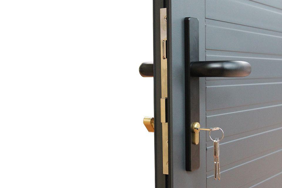 Aluminium deuren met standaard kwalitatief hoogwaardig cilinderslot