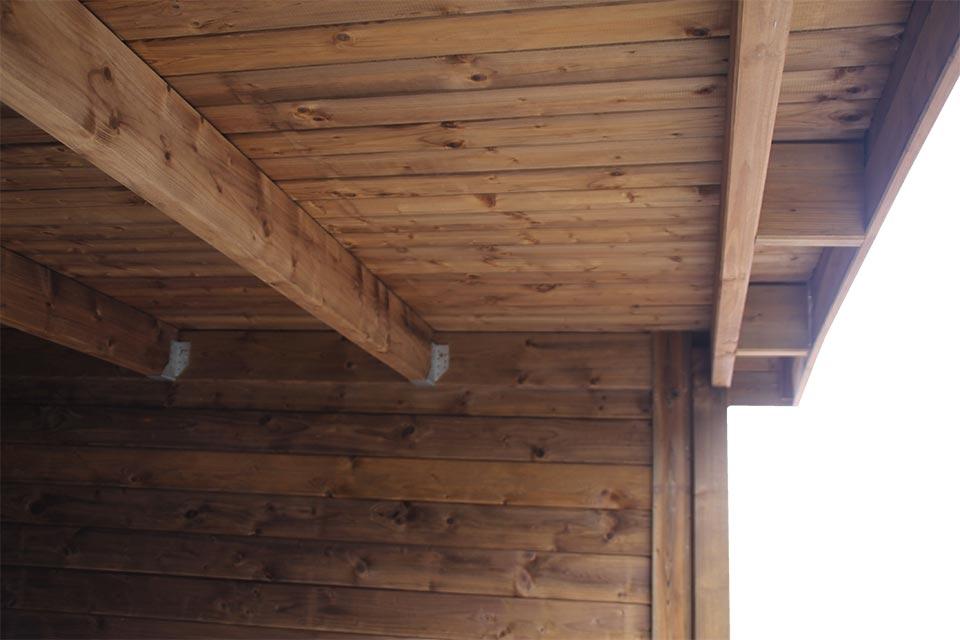 Strakke  & sterke dakdraag constructie