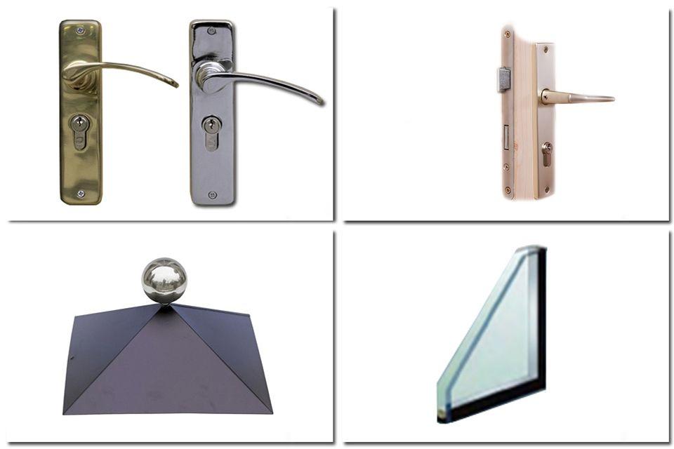 Sierlijk hang- en sluitwerk + dubbel glas