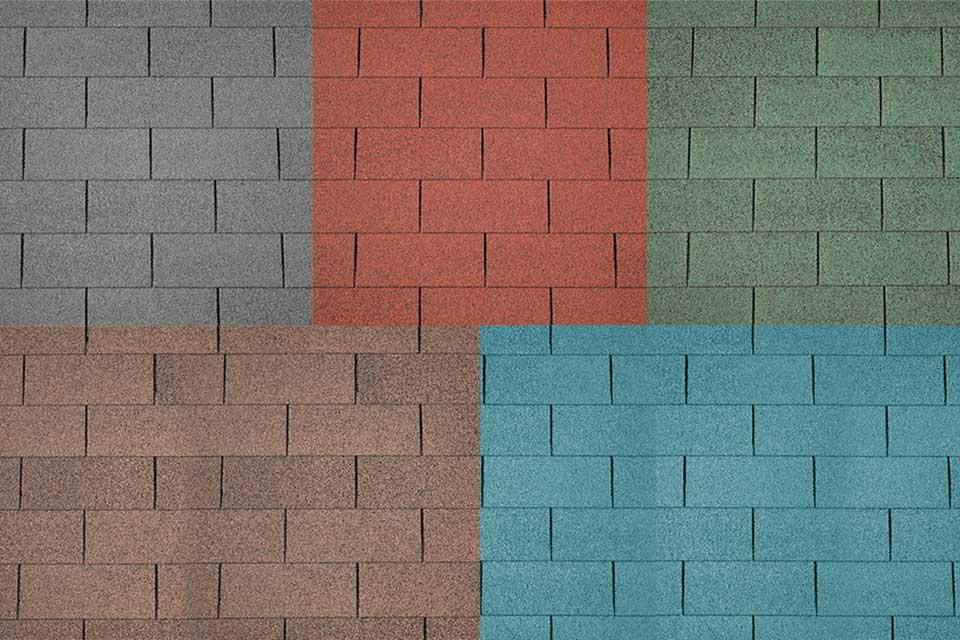 Deze Lugarde blokhut wordt geleverd inclusief dakshingles